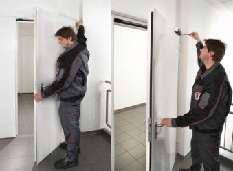 Правила монтажа противопожарных дверей