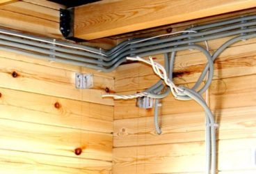 Открытая и скрытая прокладка кабеля