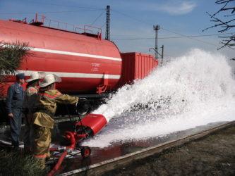 Требования пожарной безопасности на ЖД транспорте