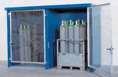 Требования к шкафам для хранения газовых баллонов